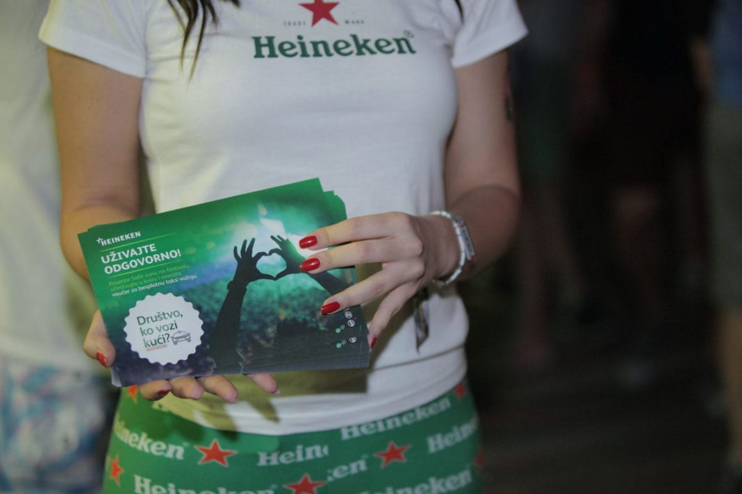 HEINEKEN Promotes Responsible Consumption, Traffic Safety