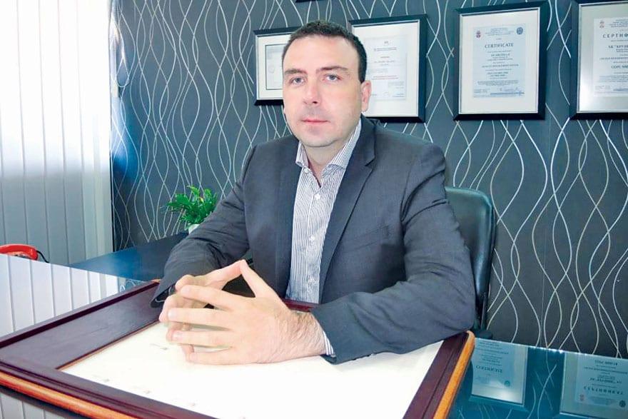 Mladen Petković, General Manager of HK Krušik A.D. (JSC) Valjevo