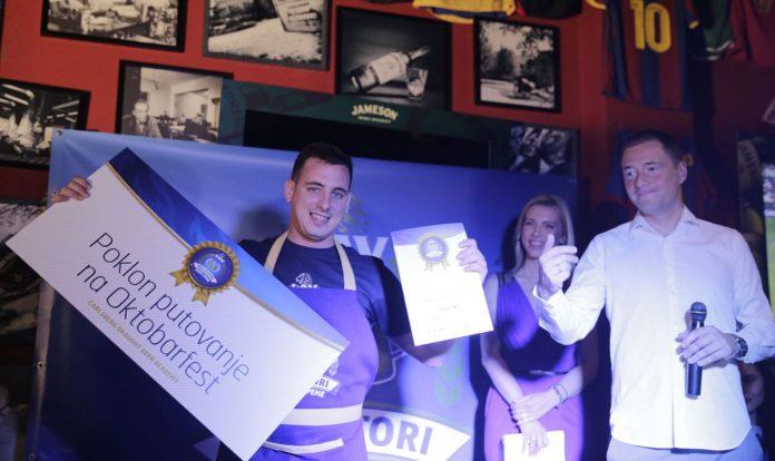 "Lav Presents ""Beer And Foam Maestro"" Award"