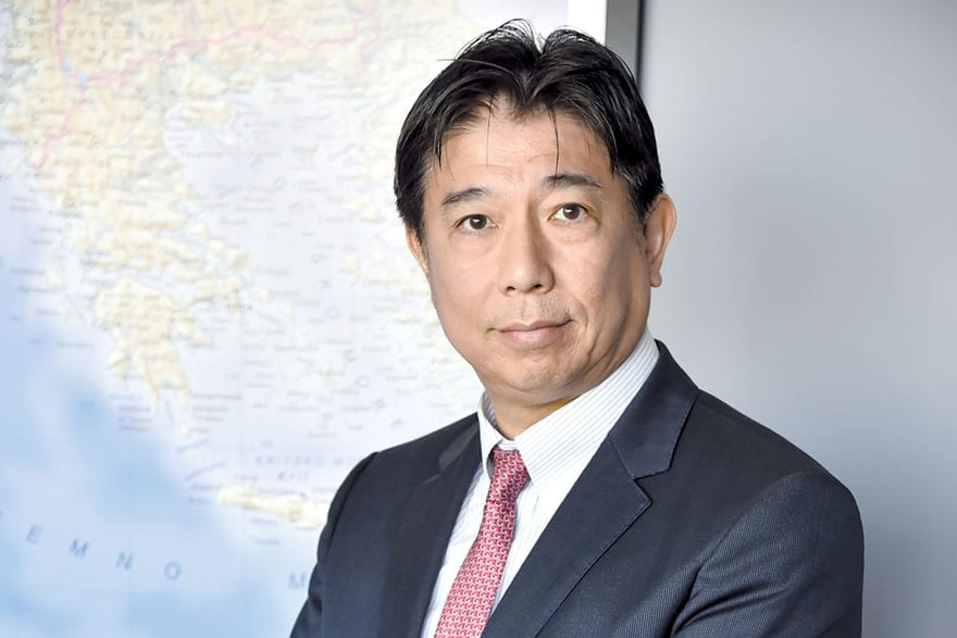 Naoki Tsukada, General Manager Of Mitsubishi Corporation's Belgrade Liaison Office