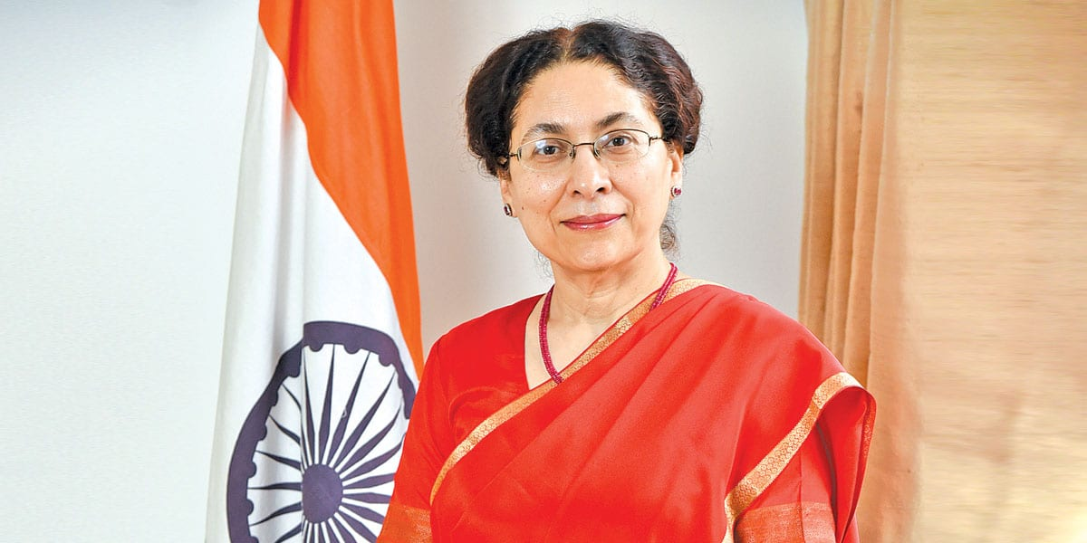Narinder Chauhan Ambassador Of India