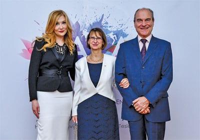 Sanja Ivanić i gospođa i gospodin Moro