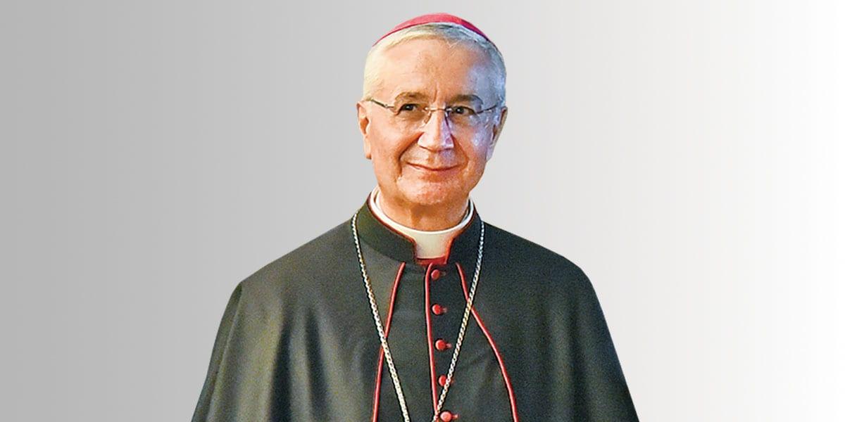 Archbishop Luciano Suriani Apostolic Nuncio In Serbia