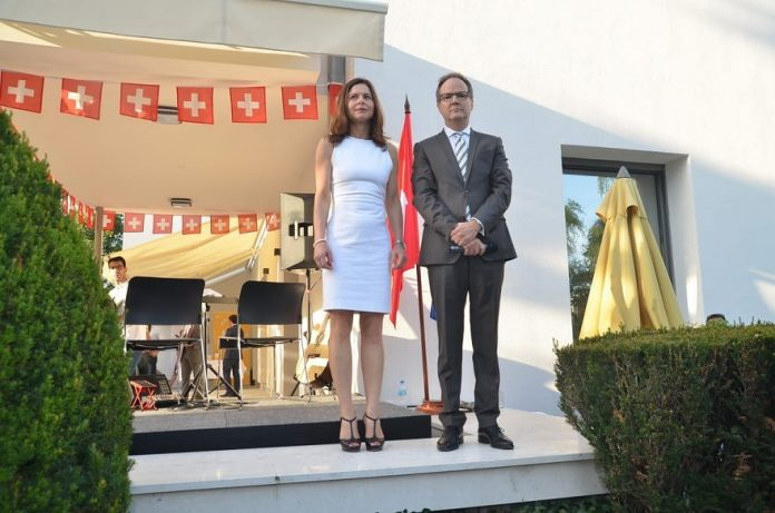 National Day Of Switzerland Philippe Guex