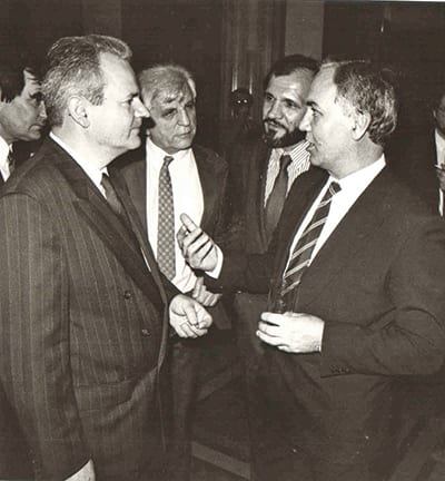 Vukotic and Slobodan Milosevic