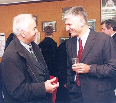 Vukotic and Zoran Djindjic