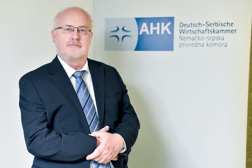 Martin Knapp German-Serbian Chamber Of Commerce AHK