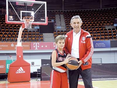 PEŠIĆ with his grandson