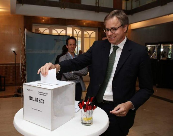 Axel Dittmann German Embassy Hosts Parliamentary Elections Evening