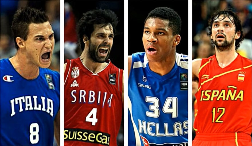 NBA Players Who Play / Miss In Eurobasket 2017