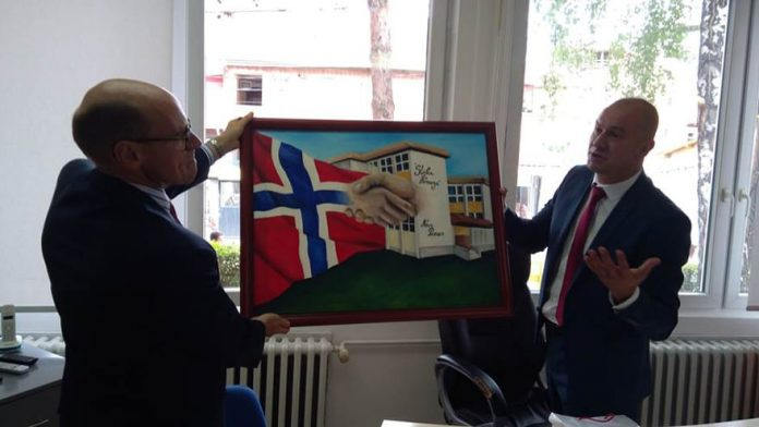 Norway Supported Renovation Of Stefan Nemanja School