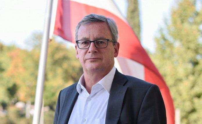Johannes Eigner Austrian Ambassador