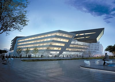 THE NEW LIBRARY for the University of Economics and Business in Vienna