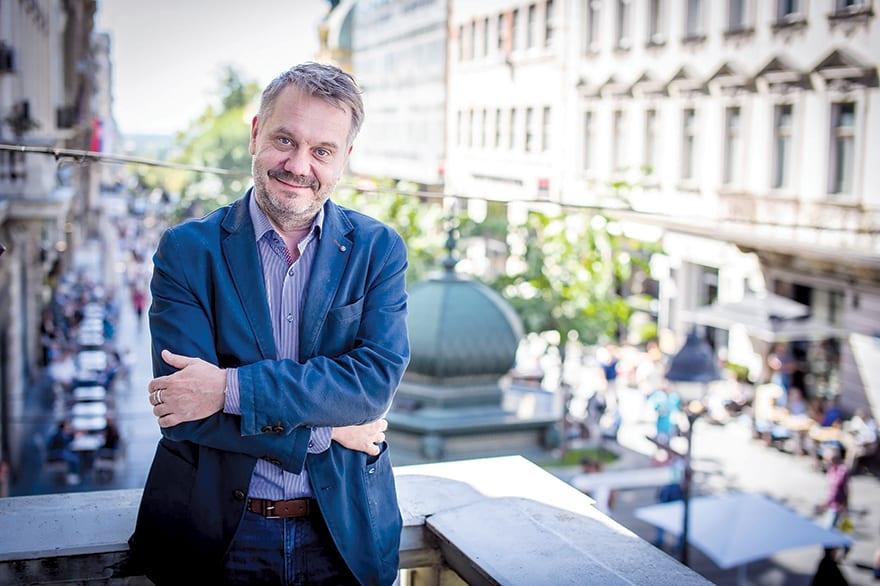 Frank Baumann, Director Of The Goethe-Institut In Serbia