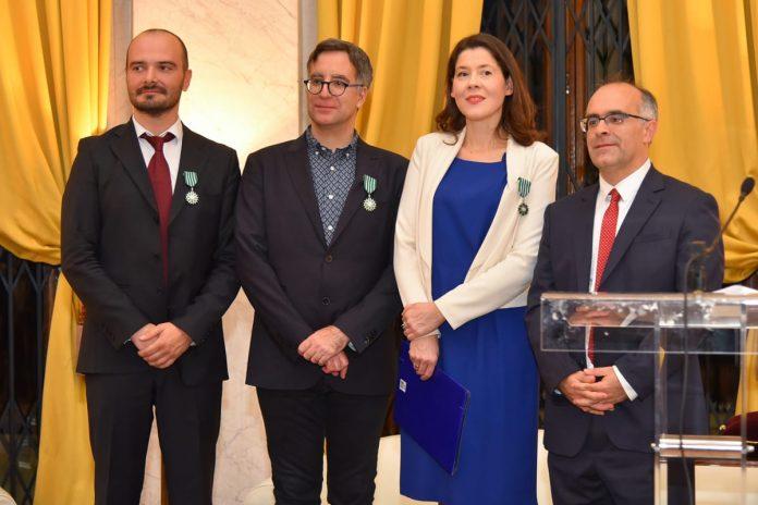 French Order Of Merit Awarded 2017