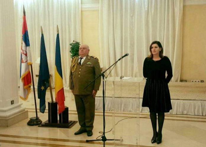 Romanian Armed Forces Day Oana Cristina Popa