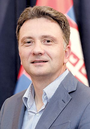 DR MIHAILO JOVANOVIĆ, DIRECTOR OF THE OFFICE FOR IT AND E-GOVERNMENT