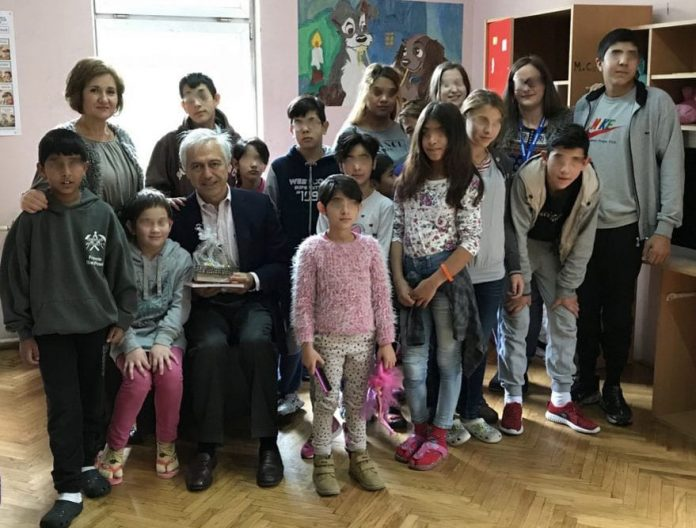 Ambassador Of The Order Of Malta Alberto di Luca Visited Shelter For Children