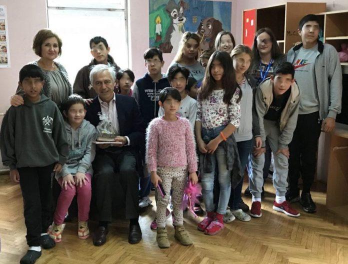 Ambassador Of The Order Of Malta Alberto di Luca Visited Shelter For Children