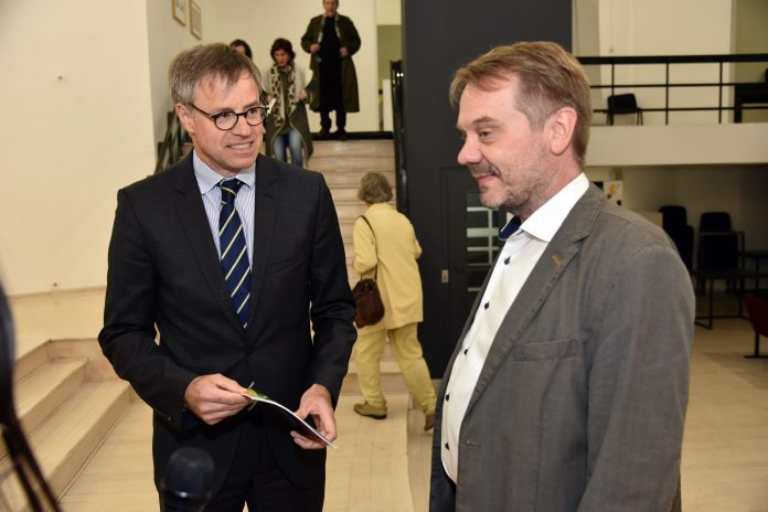 Axel Gittman and Frank Baumann, 6th GoetheFEST Opens
