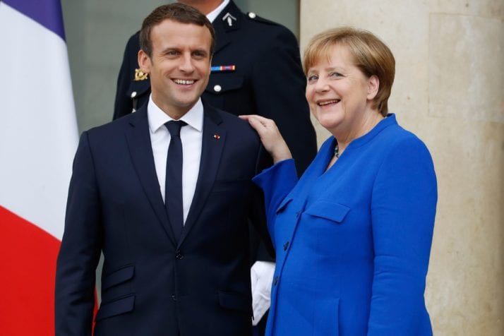 Merkel Macron Can France And Germany Come Together