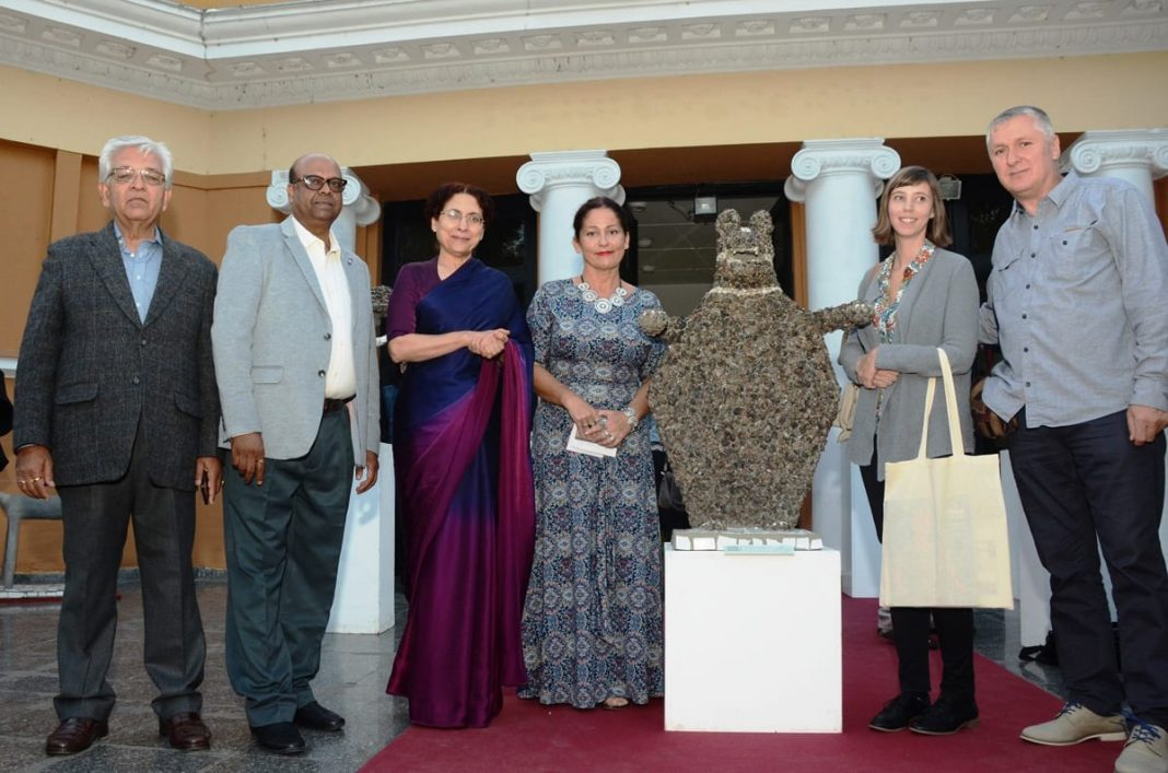 Ambassador Narinder Chauhan Inaugurates Exhibition Nek Chand's Rock Garden
