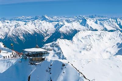 OBERGURGL, the highest parish in Austria