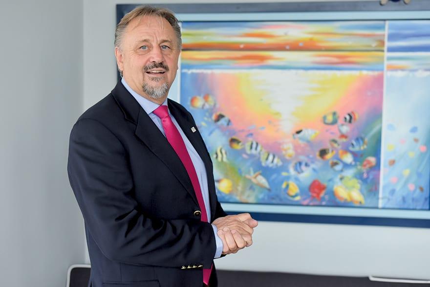 "Heinz-Dieter Harbers, Coordinator Of The GIZ Sector Programme ""Sustainable Economic Development And Employment"" In Serbia"