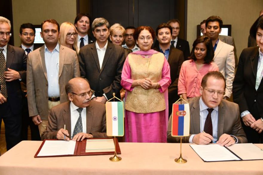India-Serbia Joint Committee On Science & Technology Narinder