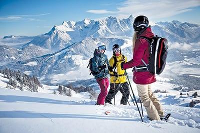 SAALBACH, part of Ski-Circus