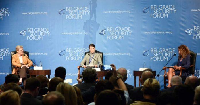 Ana Brnabić, Seventh Belgrade Security Forum