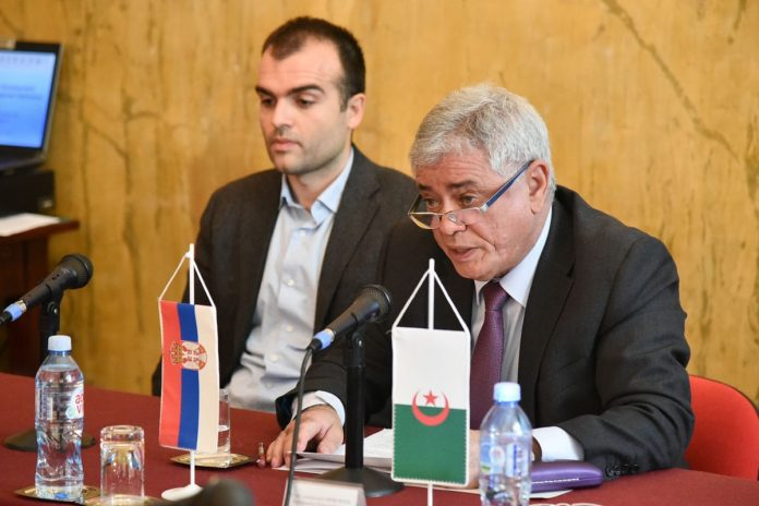 Algerian Ambassador Abdelhamid Chebchoub Gives Lecture 2017