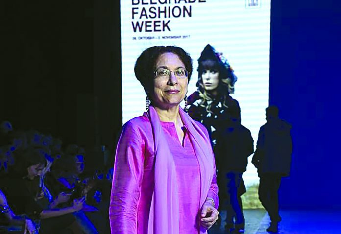 Indian Designer At The Belgrade Fashion Week Narinder Chauhan
