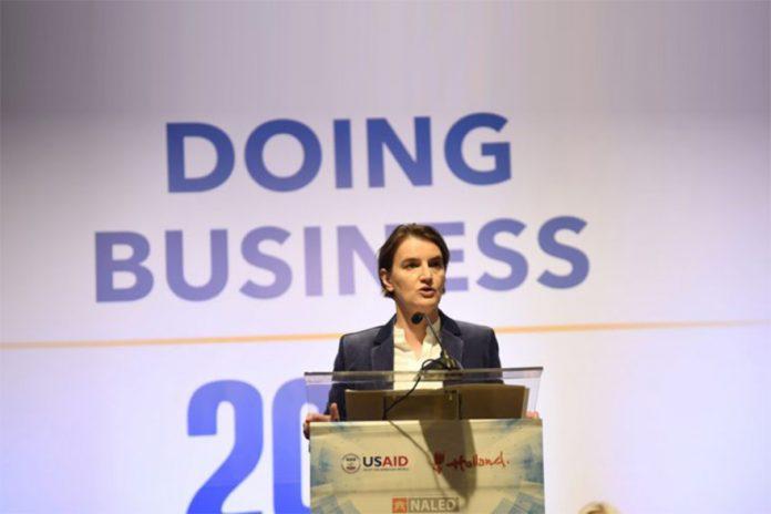 Ana Brnabic Doing-Business-Index-Success-2018-696x411