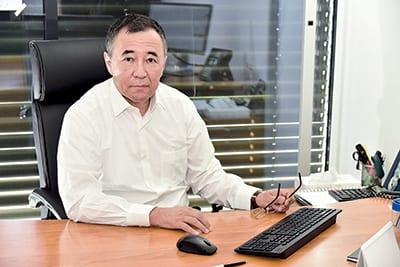 AZHAIYP KOZHAKHMETOV