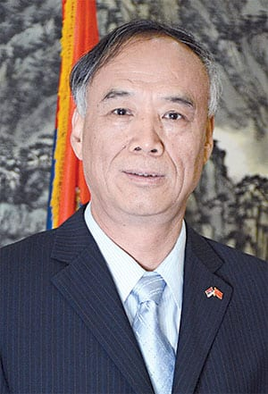 H.E. LI MANCHANG AMBASSADOR OF THE PEOPLE'S REPUBLIC OF CHINA