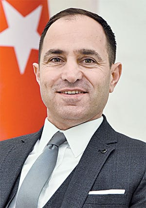 H.E. TANJU BILGIÇ AMBASSADOR OF THE REPUBLIC OF TURKEY TO SERBIA
