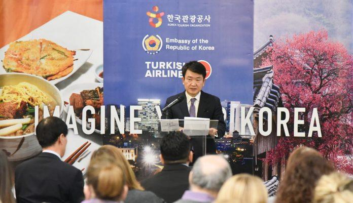 Promotion Of New Tourist Destinations In Korea Ambassador Yoo Dae-jong