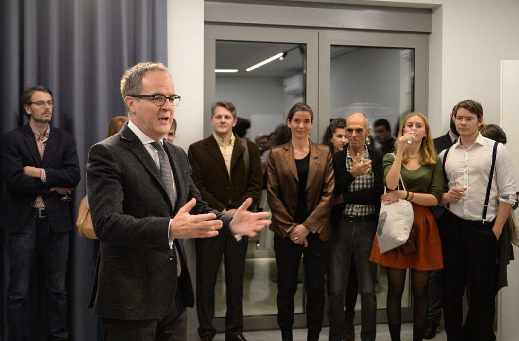 Philippe Guex Swiss Ambassador Hosts Exhibition