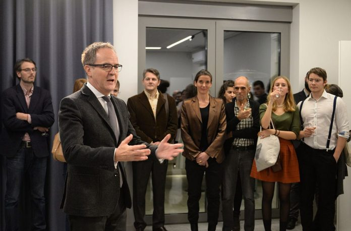 Philippe Guex Swiss Ambassador Hosts Exhibition