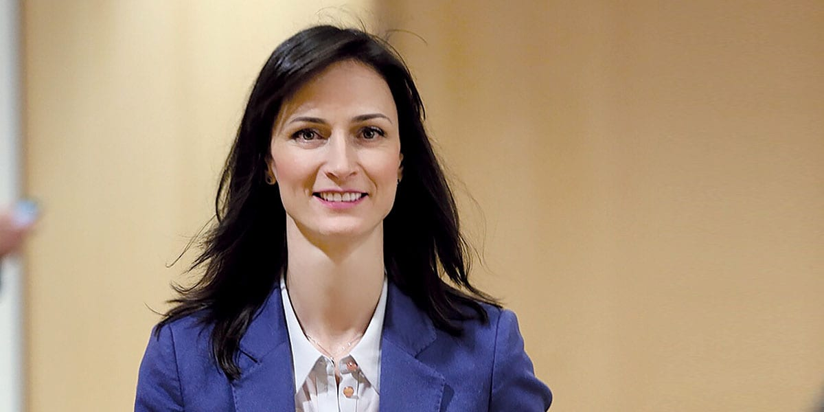 Mariya Gabriel, European Commissioner For Digital Economy And Society