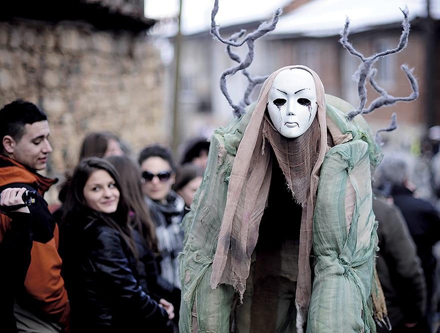 Vevcani Carnival Brings In Macedonia
