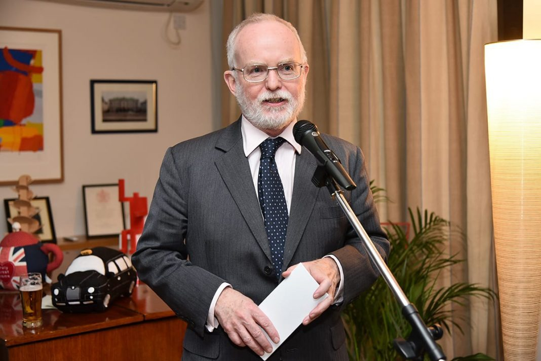 Ambassador Denis Keefe Hosts British Entrepreneurs Active in Serbia