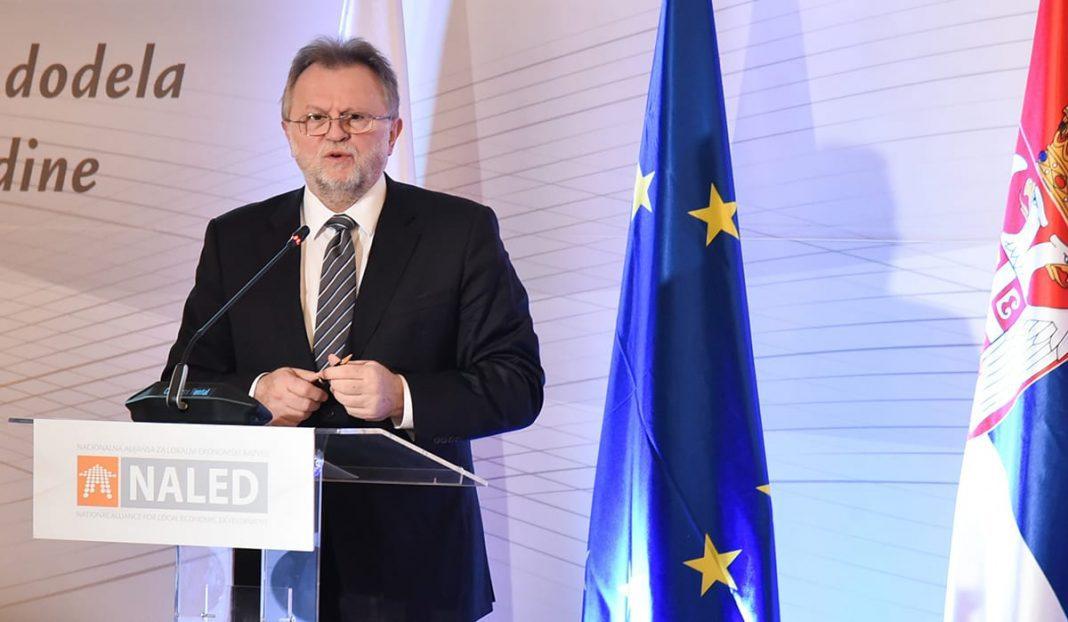 Minister Dušan Vujović Reformer Year 2018