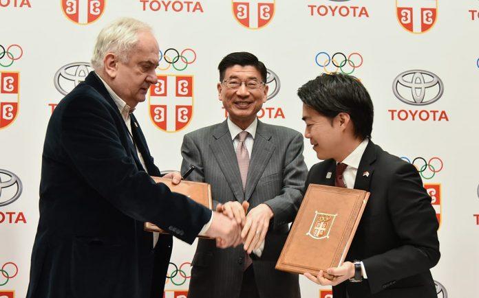 Toyota Backs Serbian Olympic Team On Road To Tokyo 2018