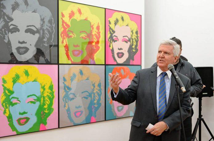 U.S. Ambassador Opens American Pop Art Exhibition 2018