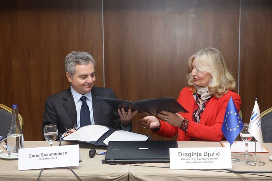 EIB And Banca Intesa Sign New €30m Loan