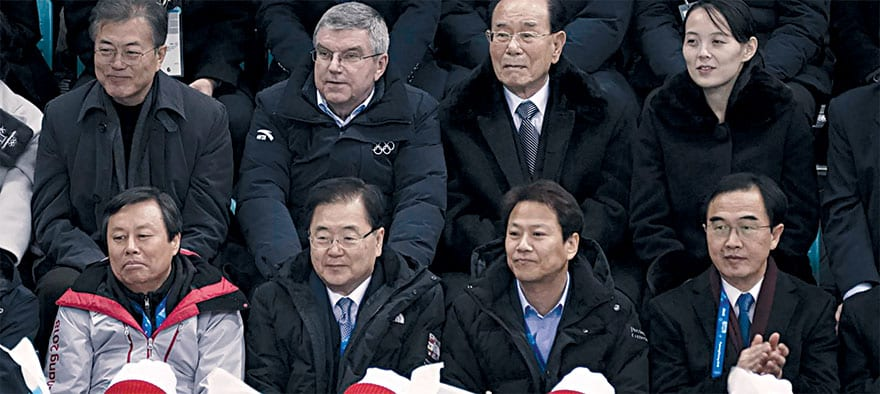 Diplomacy At The 2018 Winter Olympics
