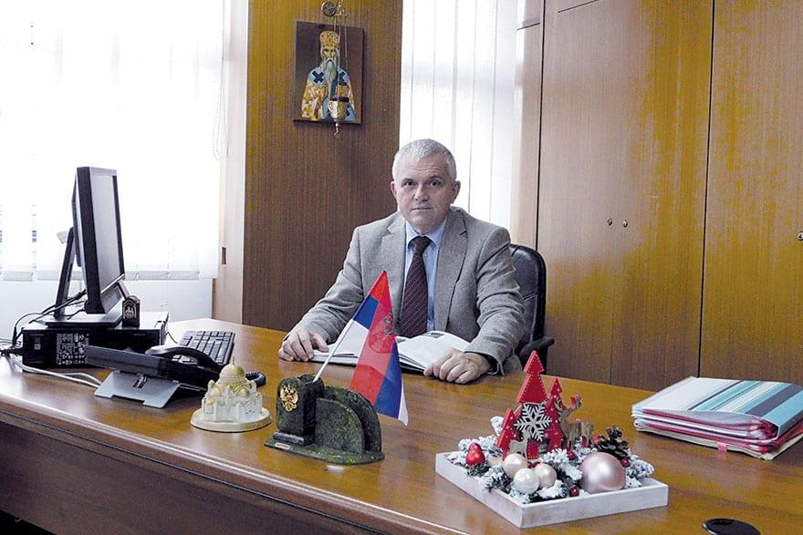 Milan A. Nedeljković PhD, President Of The Municipality Of Vračar