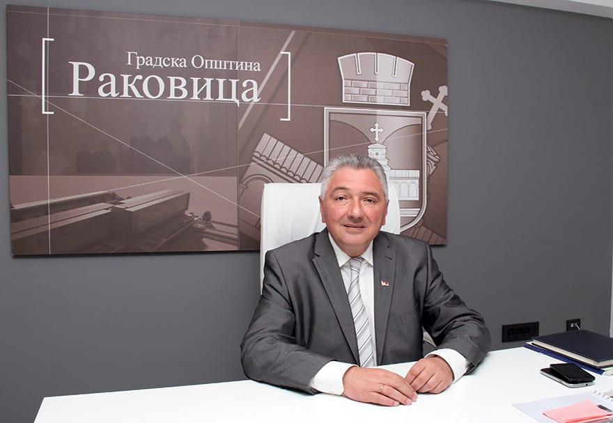 Vladan Kocić, President Of The Municipality Of Rakovica